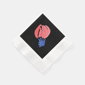 Air Balloon Coined Cocktail Paper Napkins