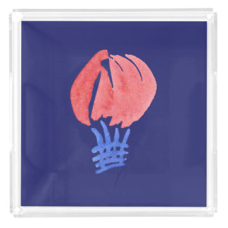 Air Balloon Extra-Large Square Serving Tray