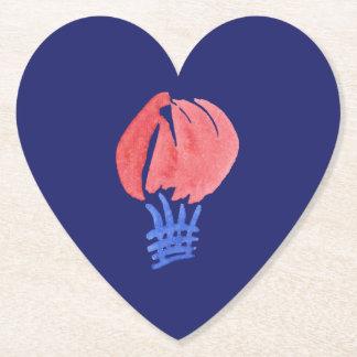 Air Balloon Heart Coaster