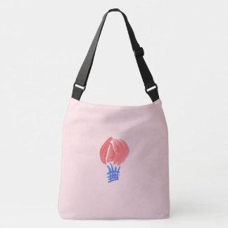 Air Balloon Large All-Over Print Cross Body Bag