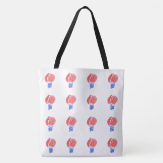 Air Balloon Large All-Over Print Tote Bag