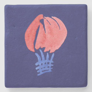 Air Balloon Limestone Coaster Stone Coaster