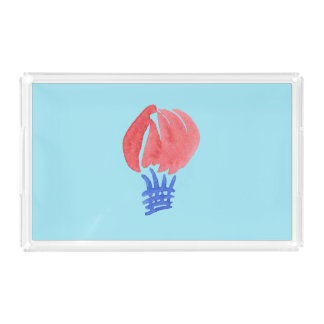 Air Balloon Medium Rectangle Serving Tray