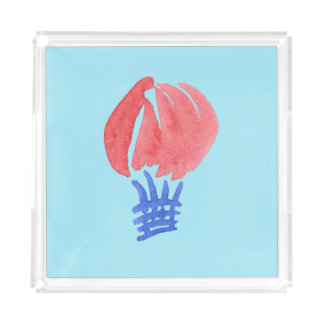 Air Balloon Medium Square Tray