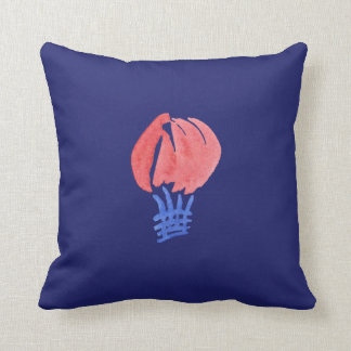 Air Balloon Polyester Throw Pillow 16''