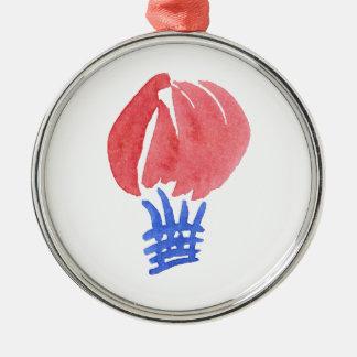 Air Balloon Premium Round Ornament