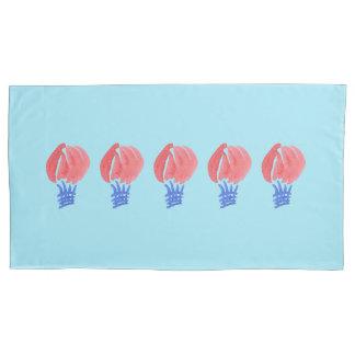 Air Balloon Single King Size Pillowcase