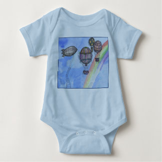 """Air balloons"" Baby Jersey Bodysuit"