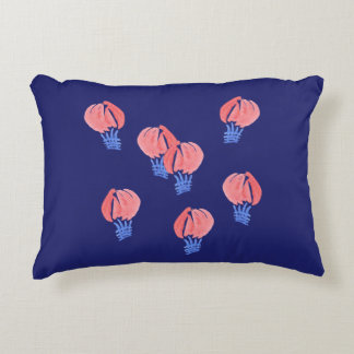 Air Balloons Brushed Polyester Accent Pillow