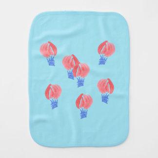 Air Balloons Burp Cloth