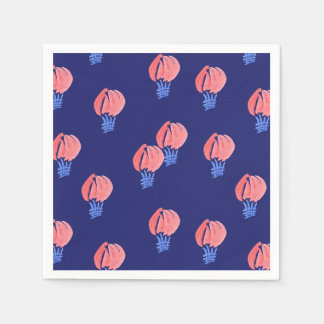 Air Balloons Cocktail Paper Napkins