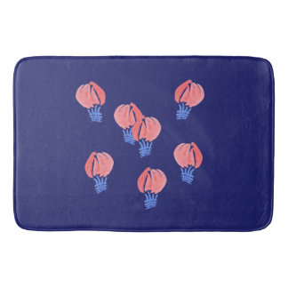 Air Balloons Large Bath Mat Bath Mats