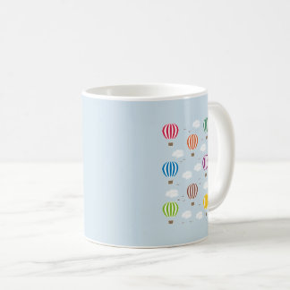 Air Balloons Pattern Coffee Mug