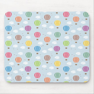 Air Balloons Pattern Mouse Mat