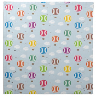 Air Balloons Pattern Napkin