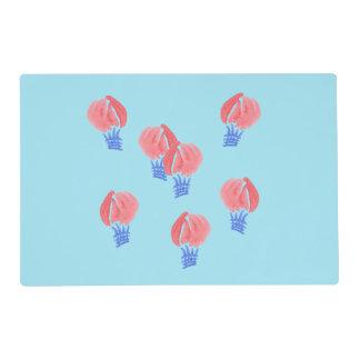Air Balloons Placemat 12'' x 18''