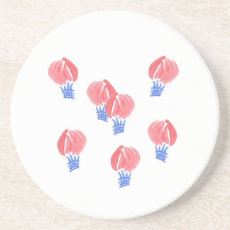 Air Balloons Sandstone Drink Coaster