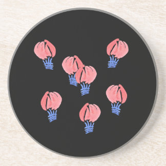 Air Balloons Sandstone Drink Coaster