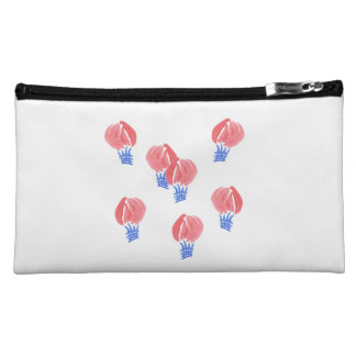 Air Balloons Sueded Medium Cosmetic Bag