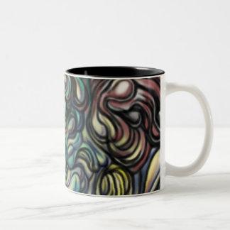 """""""air blob"""" abstract art mug"""