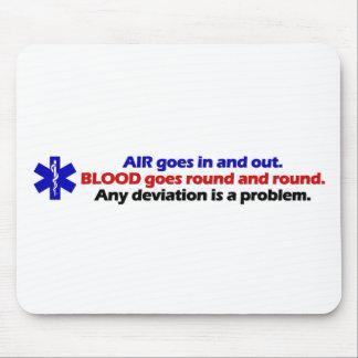 Air/Blood Mouse Mat