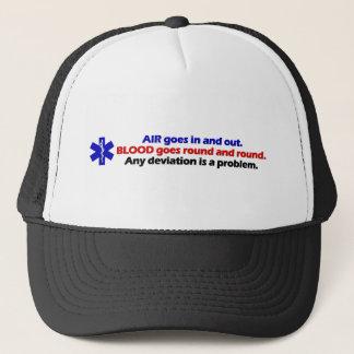 Air/Blood Trucker Hat
