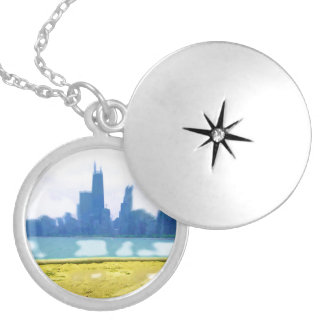 Air Brushed Chicago Lockets