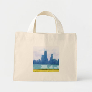 Air Brushed Chicago Skyscrapers Bags