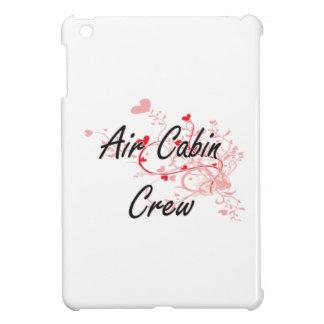 Air Cabin Crew Artistic Job Design with Hearts iPad Mini Cases