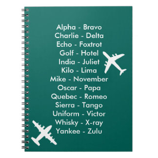 Air Cadet Flying Lesson Learning to Fly Airplanes Notebooks