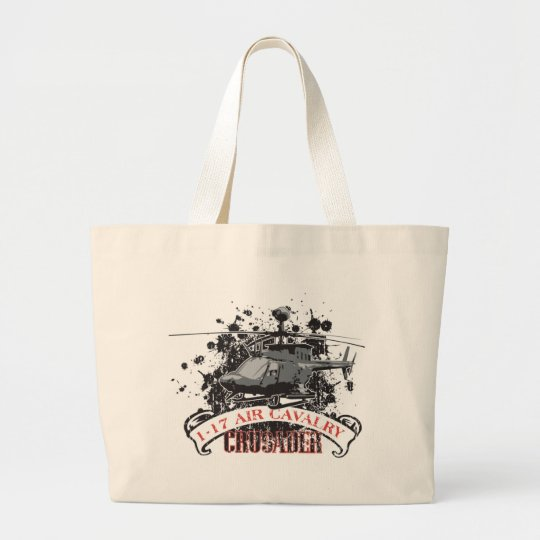 Air Cavalry Large Tote Bag