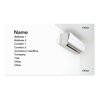 Air-Conditioner Business Cards