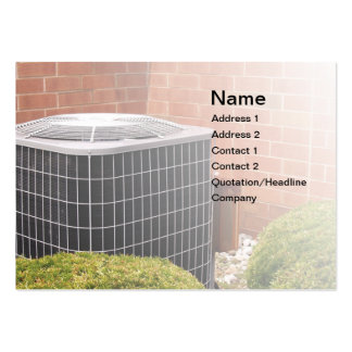 air conditioner pack of chubby business cards