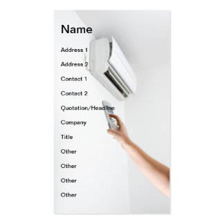 Air Conditioner Pack Of Standard Business Cards