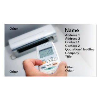 Air-Conditioner Pack Of Standard Business Cards