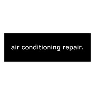 Air Conditioning Repair Business Card