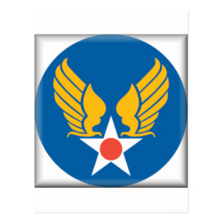 Air Corps Military Emblem Postcards