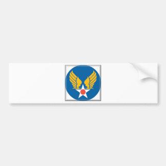 Air Corps Shield Bumper Sticker