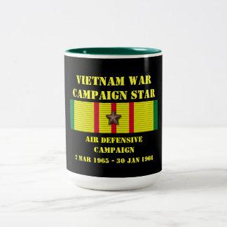 Air Defensive Campaign Two-Tone Mug