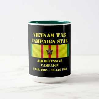 Air Defensive Campaign Two-Tone Coffee Mug