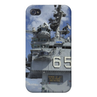 Air department Sailors test the sprinkler syste iPhone 4/4S Case