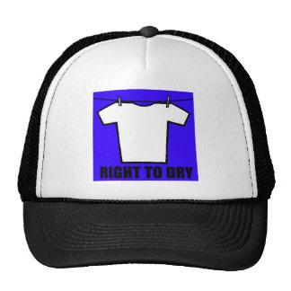 Air Drying T-shirt Trucker Hat