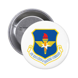 Air Education and Training Command Pinback Buttons