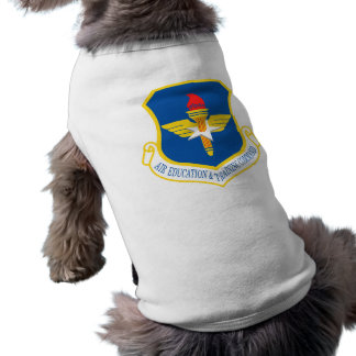 Air Education and Training Command Dog T-shirt