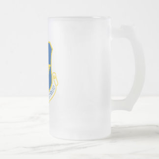 Air Education and Training Command Frosted Glass Beer Mug