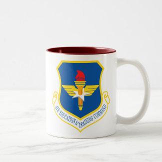 Air Education and Training Command Two-Tone Coffee Mug