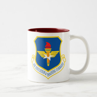 Air Education and Training Command Two-Tone Mug