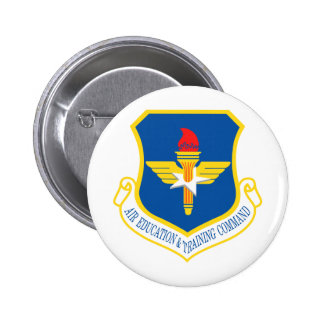 Air Education & Training Command Insignia 6 Cm Round Badge