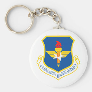 Air Education Training Command Insignia Key Chain