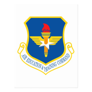 Air Education Training Command Insignia Post Cards